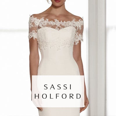 Wedding dress designer - Sassi Halford