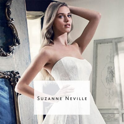 Wedding dress designer - Suzanne Neville