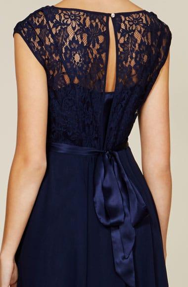 Coast navy blue lace dress