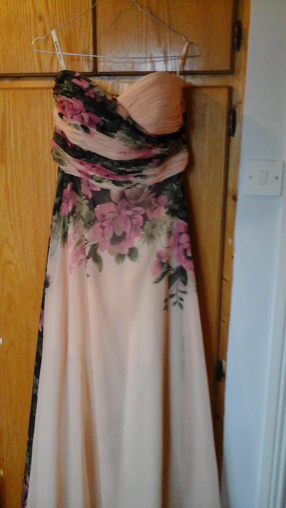 2 x floral bridesmaid dresses sell my wedding dress for How do i sell my wedding dress
