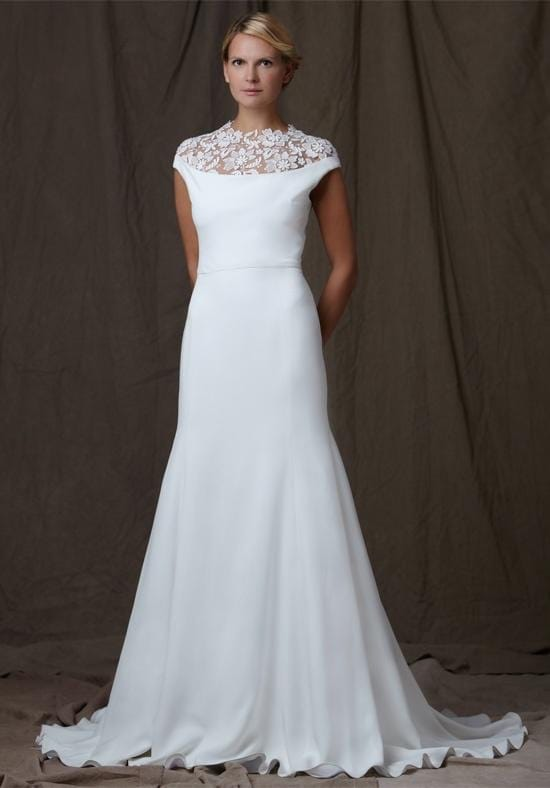 Lela rose designer dress with belt sell my wedding for Buy designer wedding dresses online