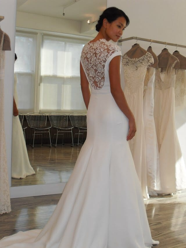 Lela rose designer dress with belt sell my wedding for Sell wedding dress online