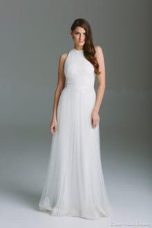 karen-willis-holmes-bespoke-bridal-2015-dahlia-sleeveless-high-neck-wedding-dress-lace-bodice