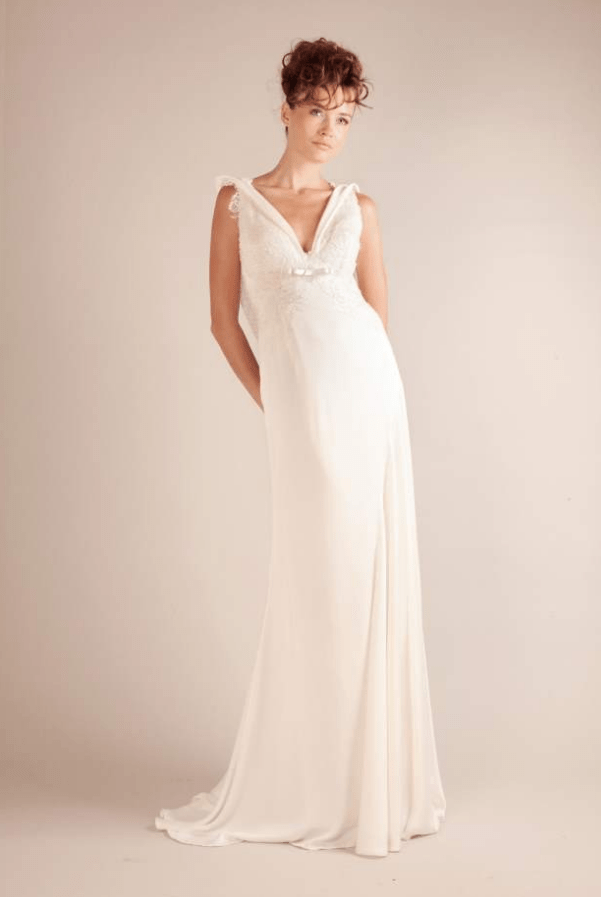 Gown of lace silk crepe sell my wedding dress online for Purchase wedding dress online