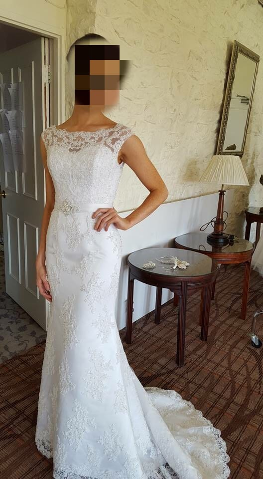 New annais bridal wedding dress unworn sell my wedding for Sell wedding dress online
