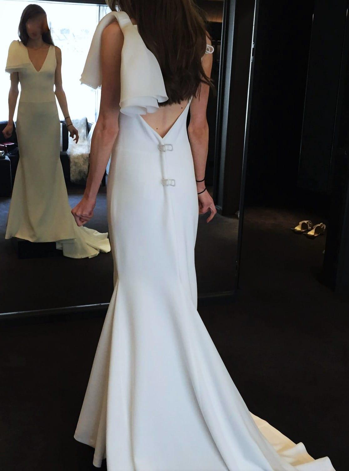 New vera wang fall 2016 micaela sell my wedding dress for Buy vera wang wedding dresses