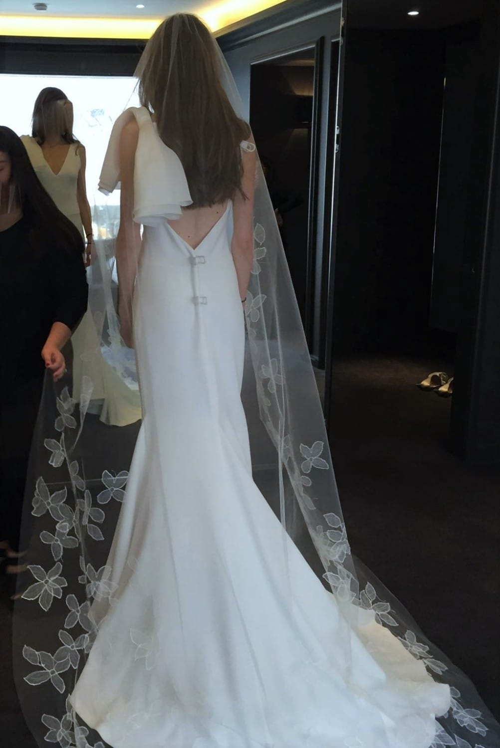New vera wang fall 2016 micaela sell my wedding dress for Sell wedding dress for free