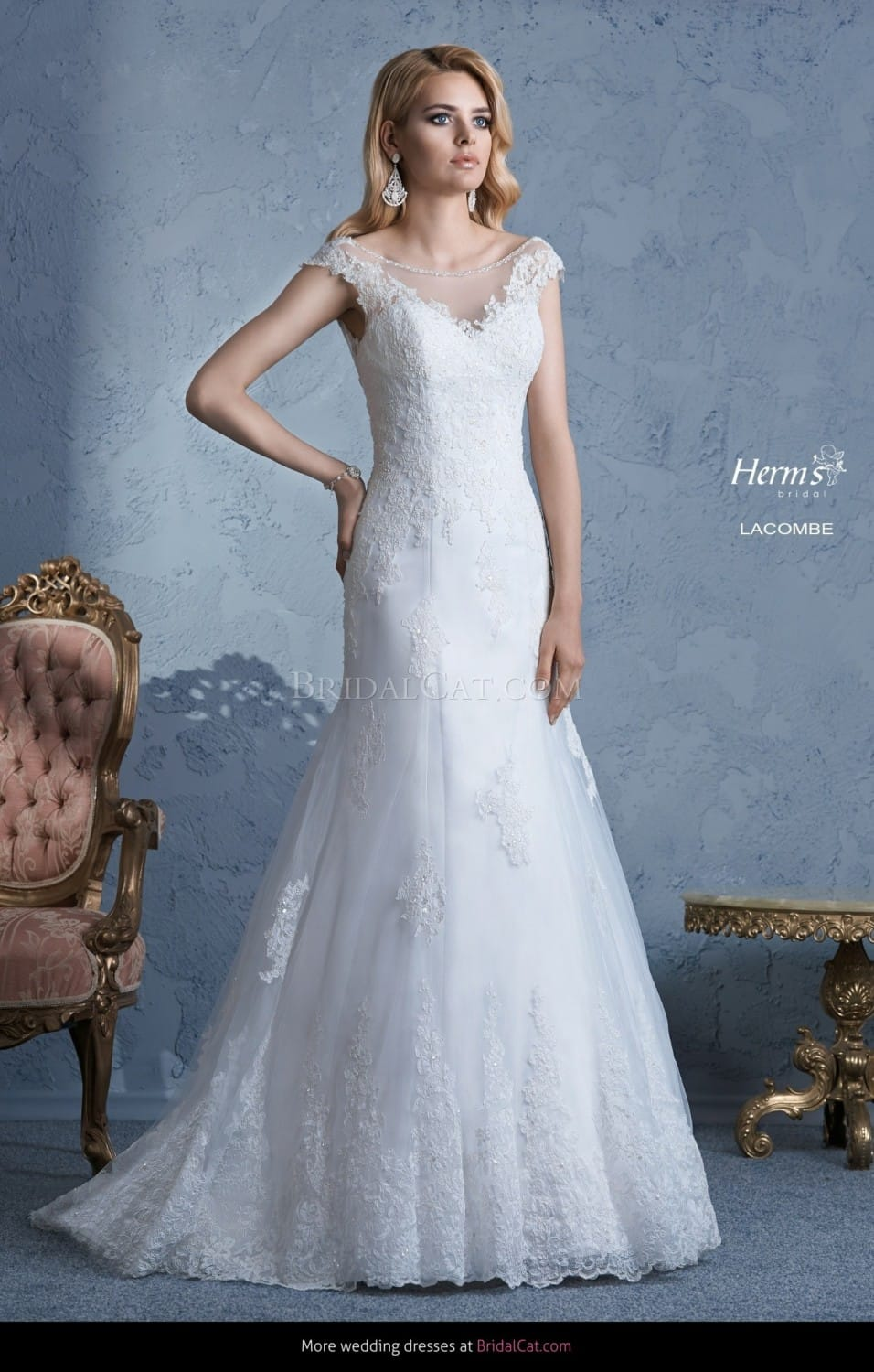 Herm 39 s bridal lacombe wedding dress sell my wedding for Sell wedding dress online