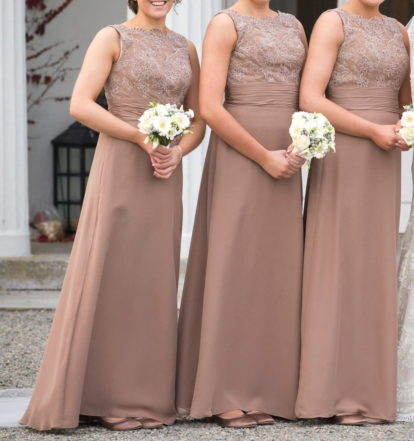 Three bridesmaids dresses sell my wedding dress online for Sell wedding dress online