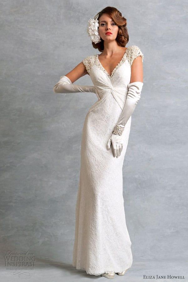 eliza-jane-howell-vintage-weddng-dress-ingrid-cap-sleeve - Sell My ...