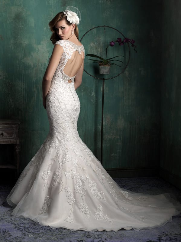 New unworn allure couture c342 gown sell my wedding for Places that sell wedding dresses