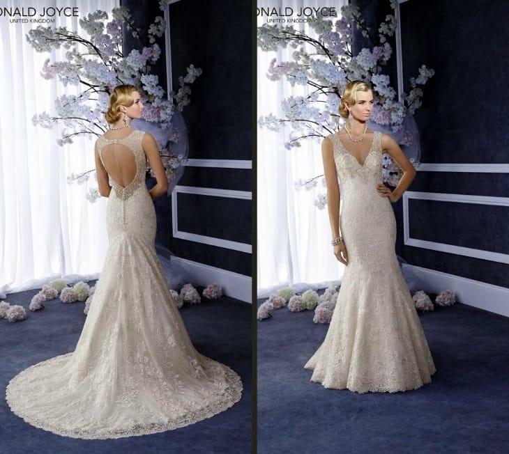 Brand New Ronald Joyce Esha Wedding Dress