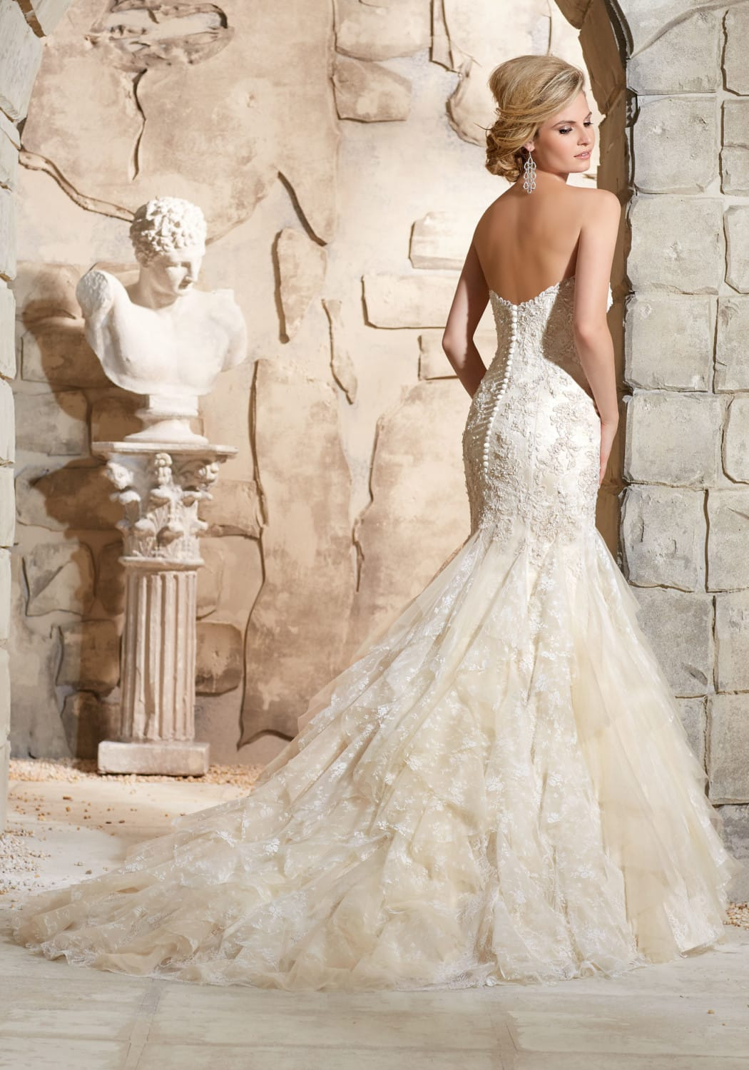 Mori Lee Designer Fitted Dream Wedding Dress Sell My