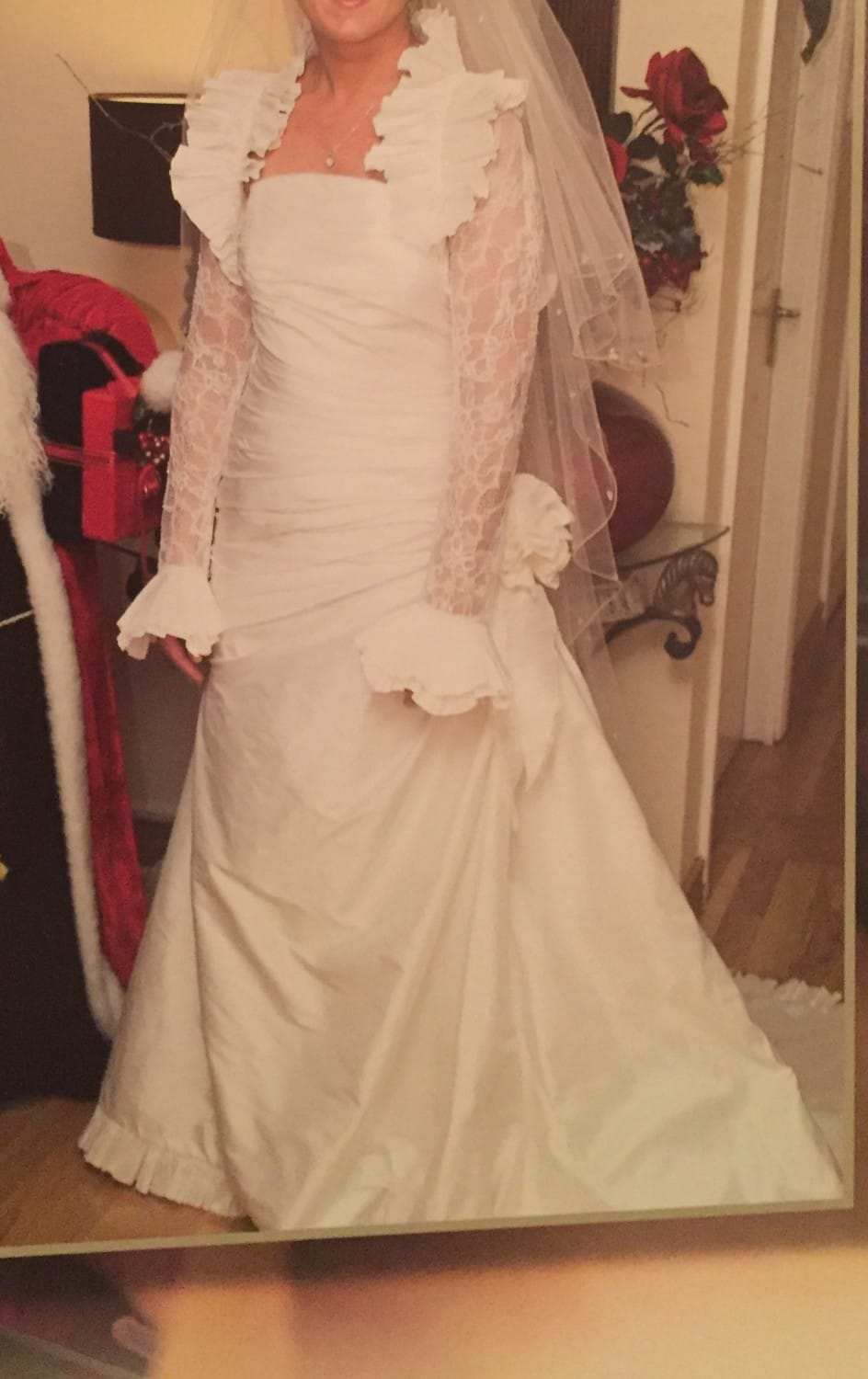 Pronovias once worn professionally cleaned wedding dress for Sell wedding dress online