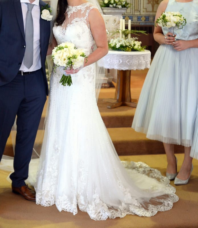 Maggie sottero beckett wedding dress sell my wedding for Maggie sottero ireland wedding dress