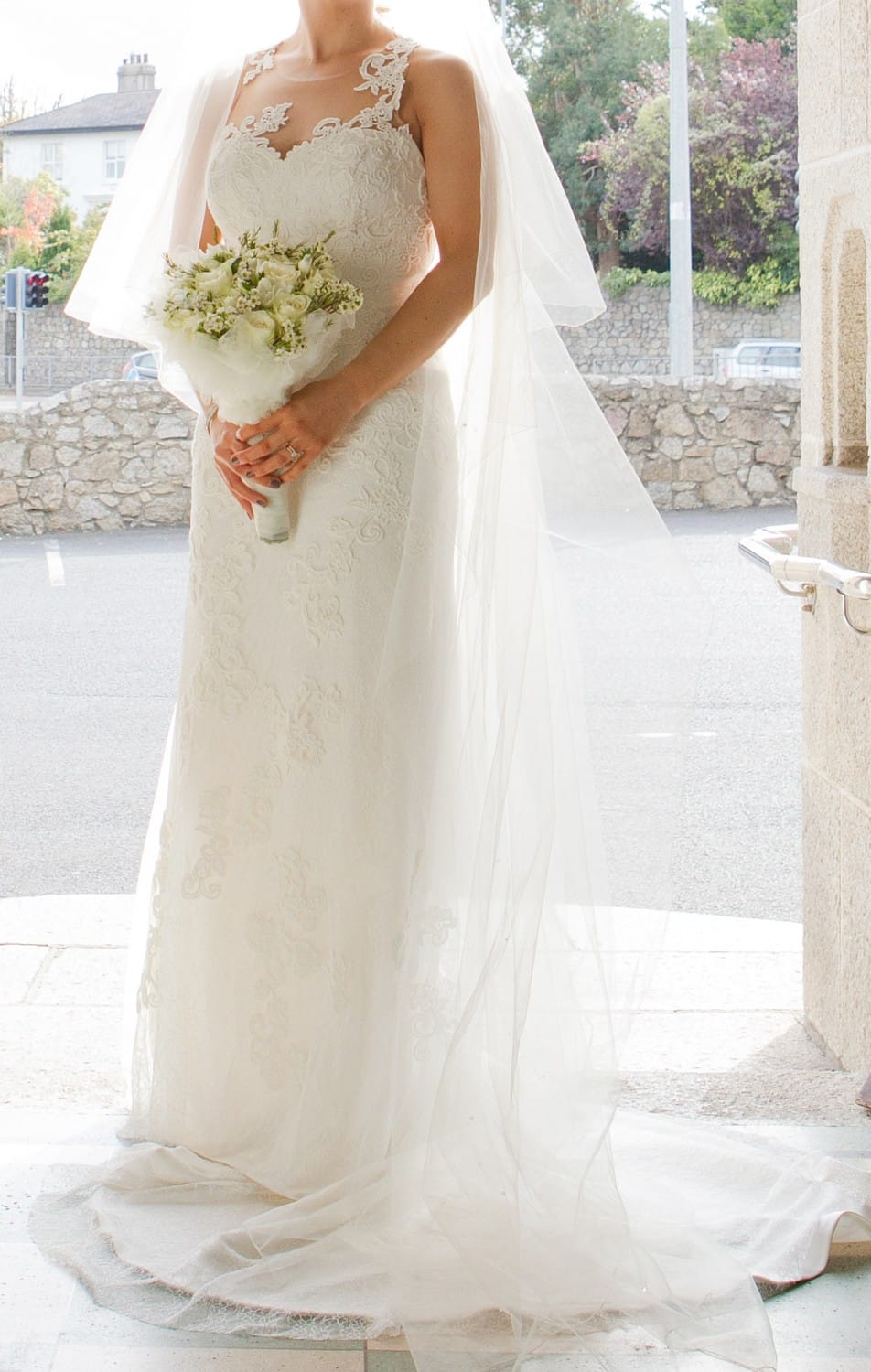 Sacha james d1455 wedding dress sell my wedding dress for Sell wedding dress for free
