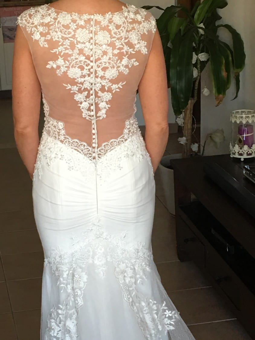 Berta Inspired Custom Made Wedding Gown New Without Tags