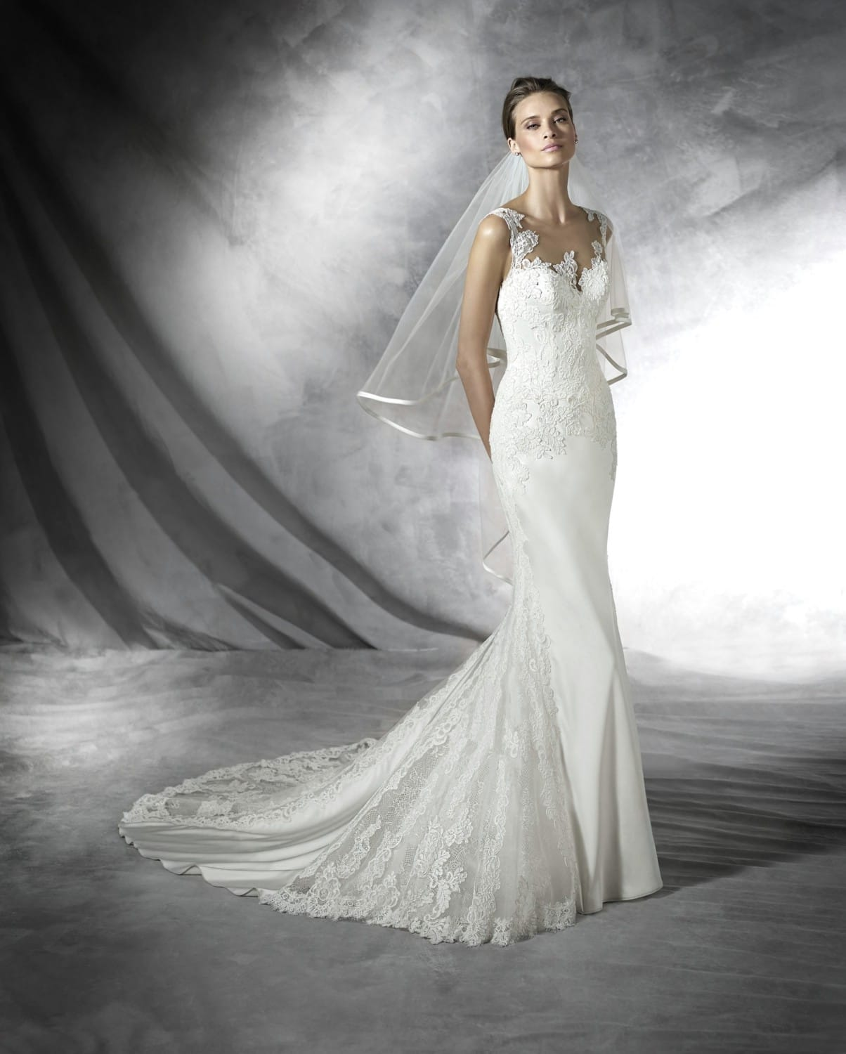 Pronovias presea sell my wedding dress online sell my for Buy designer wedding dresses online