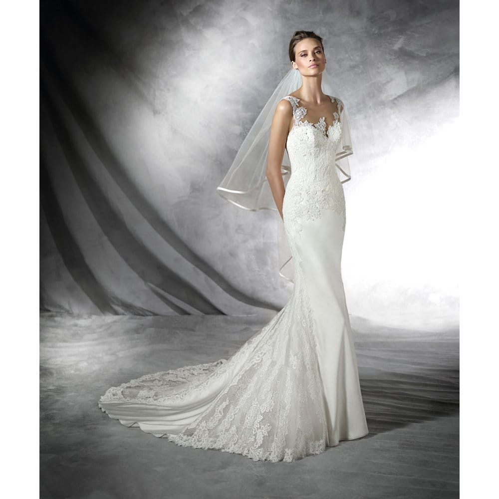 Pronovias presea sell my wedding dress online sell my for When to buy wedding dress