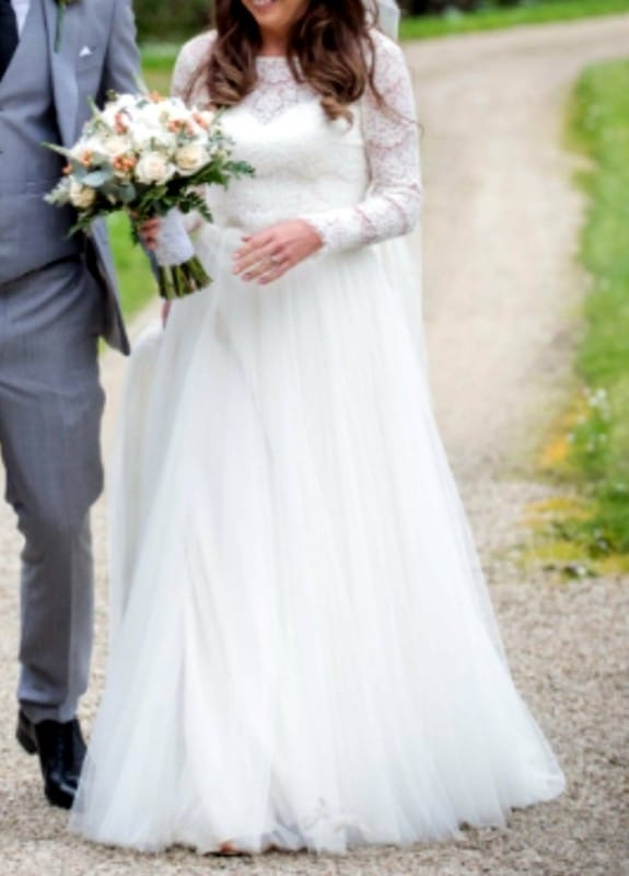 Catherine Deane Zetteberg – 3 piece wedding dress