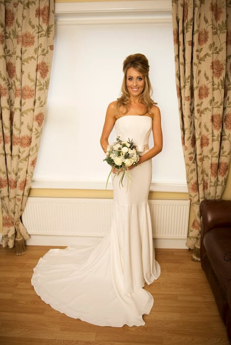 Clarendon strapless fish tail gown by suzanne neville for Selling your wedding dress