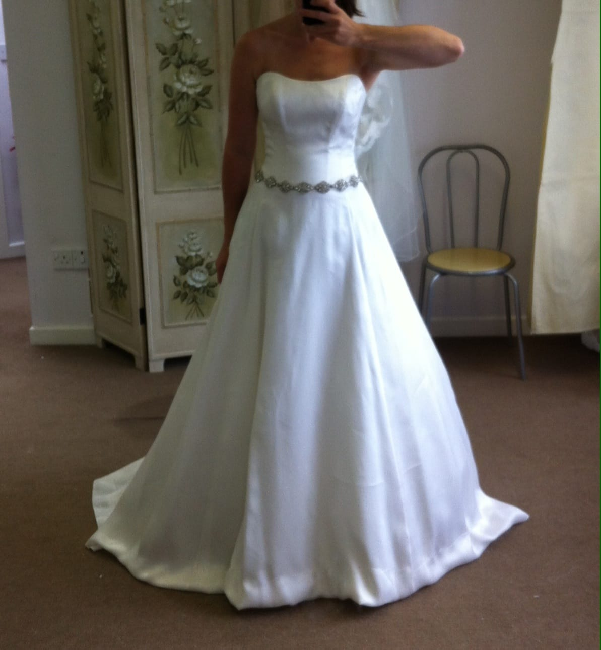 Alan hannah ex sample but never worn sell my wedding for Sell wedding dress online