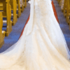 San Patrick Zoile, elegant mermaid style gown