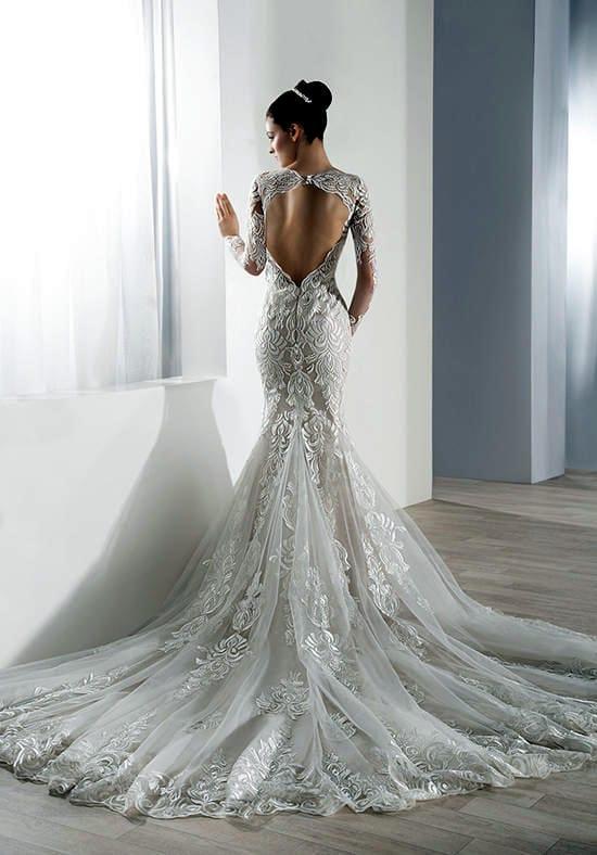 Demetrios – Elegant Lace Gown