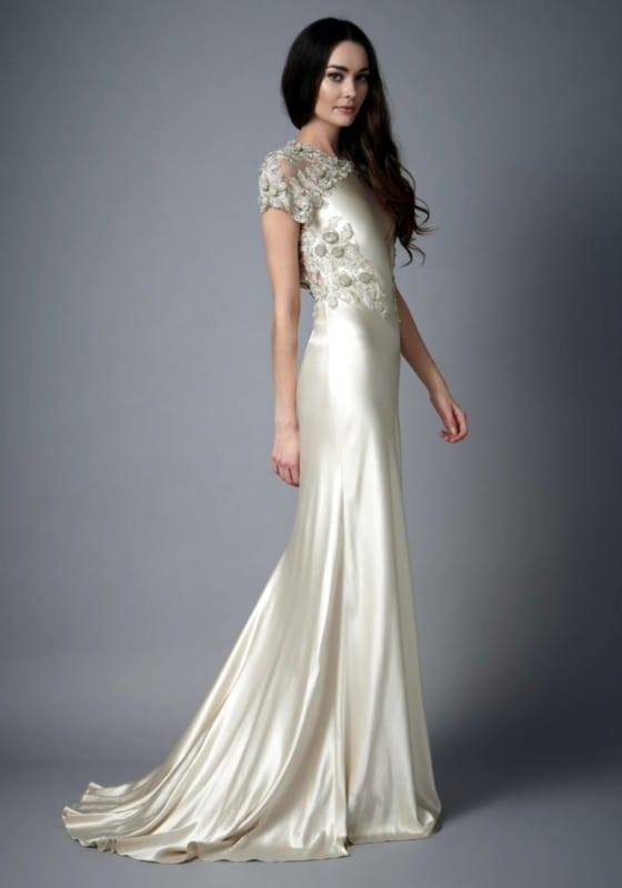 Catherine Deane Abigail bias cut gown - Sell My Wedding Dress Online ...