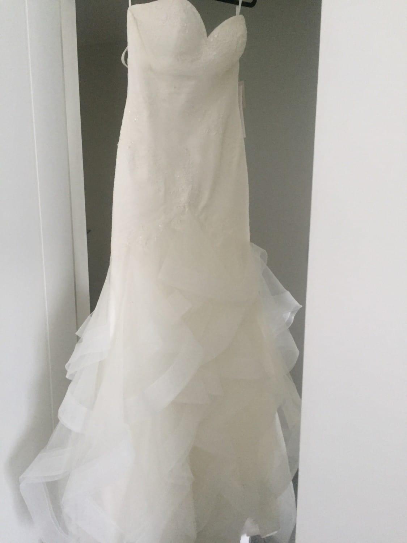 NEVER WORN White One Jabel Off White Wedding Dress