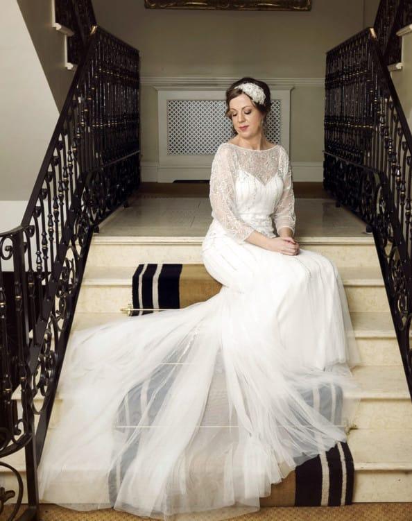 Eliza jane howell vintage inspired elsa dress sell my for Sell vintage wedding dress