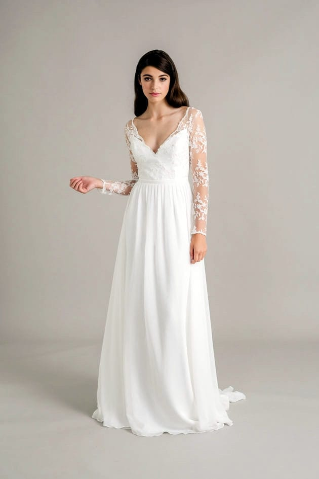 Sally eagle siena long sleeve boho dress sell my wedding for Buy designer wedding dresses online