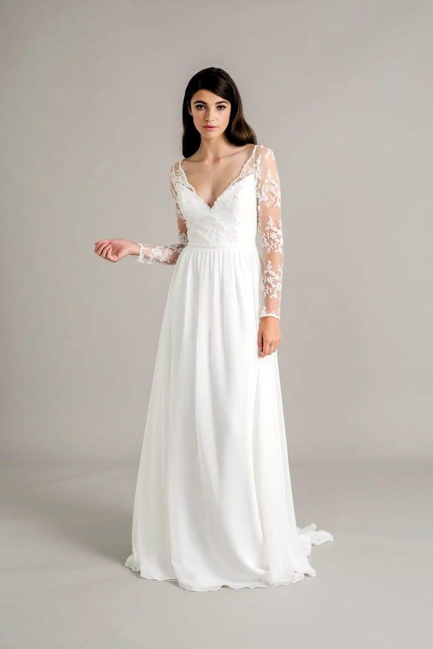 Sally Eagle Siena long sleeve boho dress