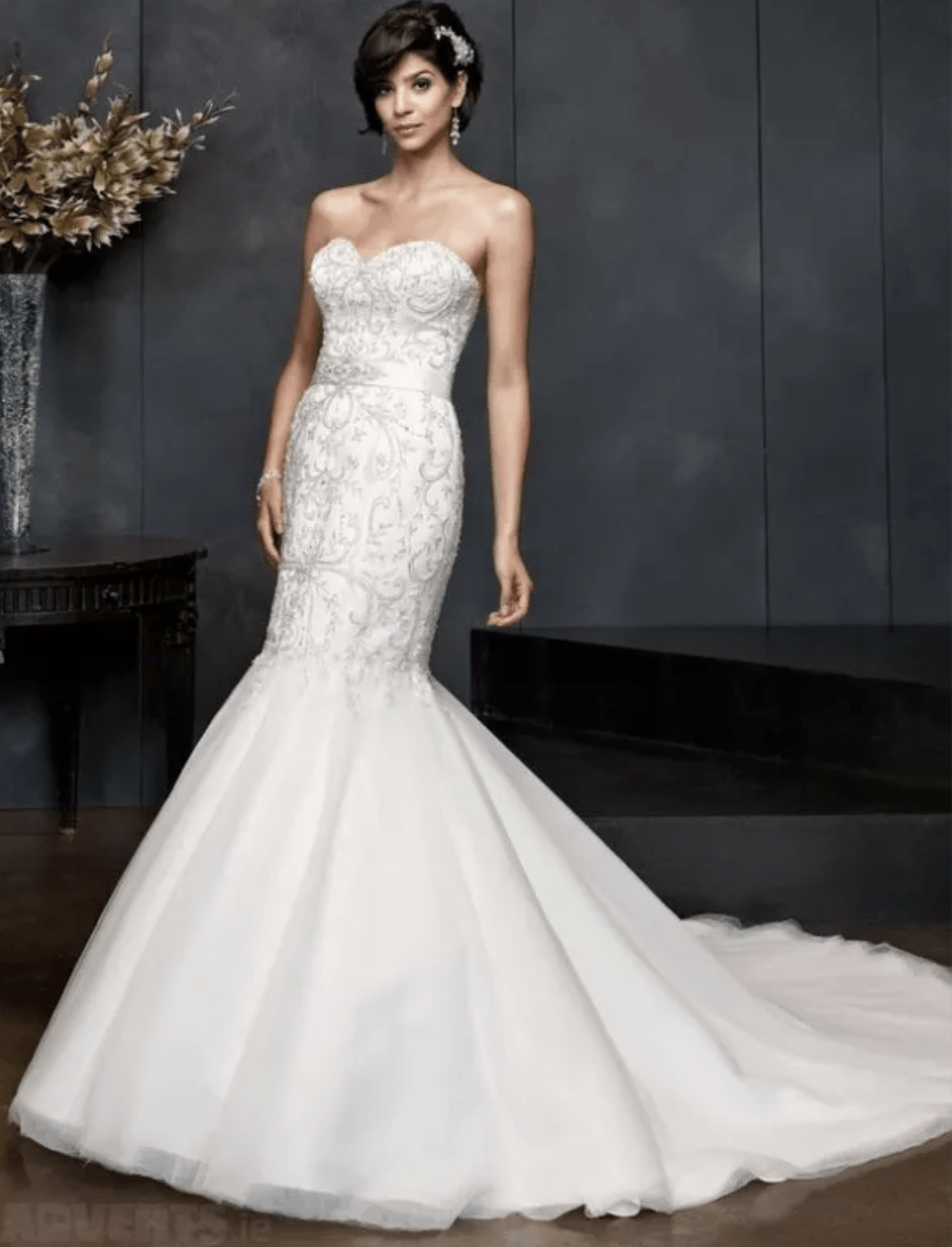Kenneth winston 1544 mermaid style sell my wedding dress for Sell wedding dress online