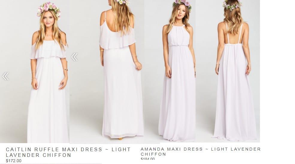 4 Lavender Bridesmaid dresses - Sell My Wedding Dress Online | Sell ...