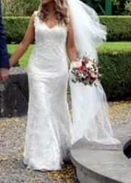 Stunning Allure 8800 Wedding Dress