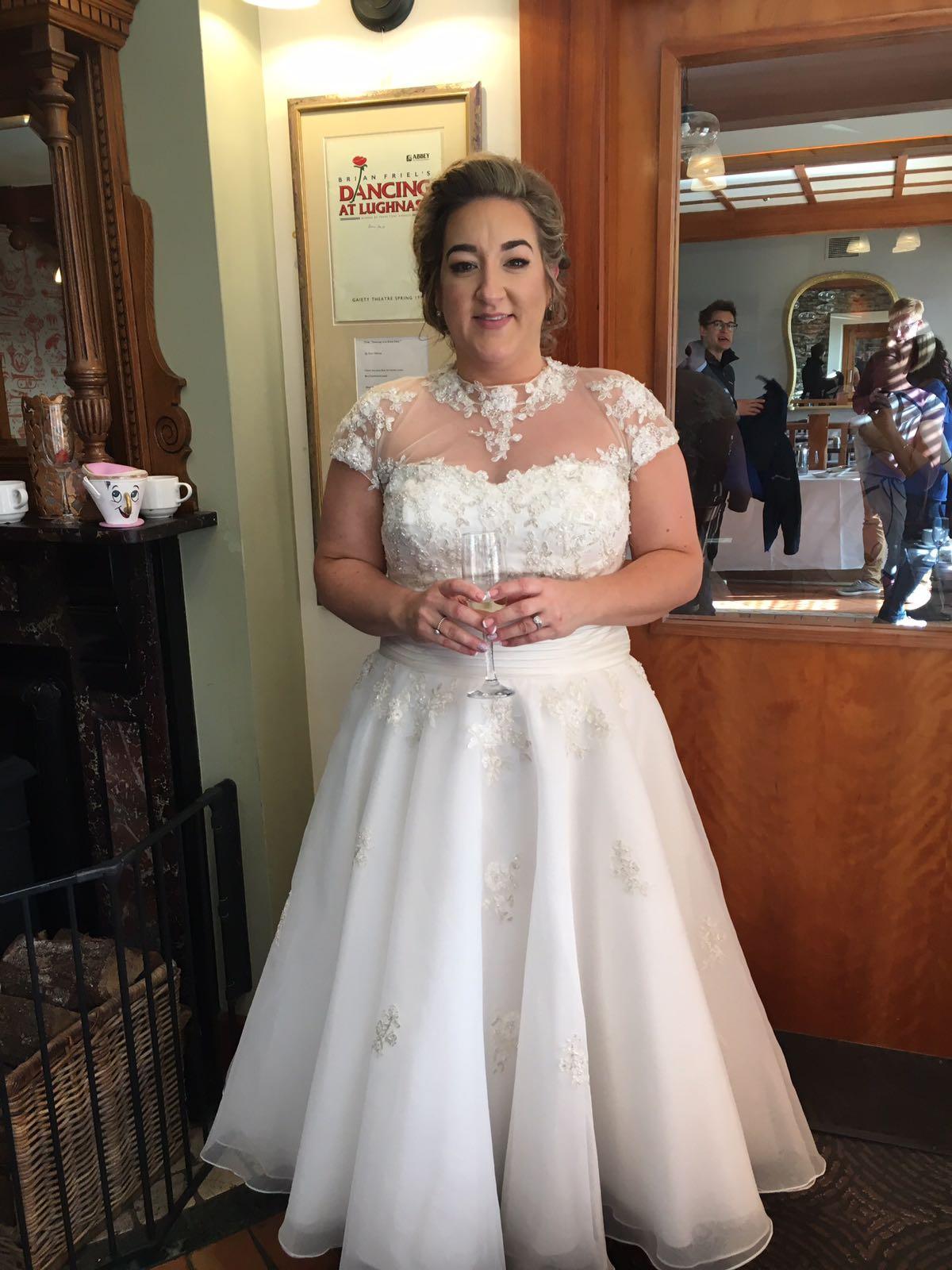 Stunning ballet length Mark Lesley dress - Sell My Wedding Dress ...
