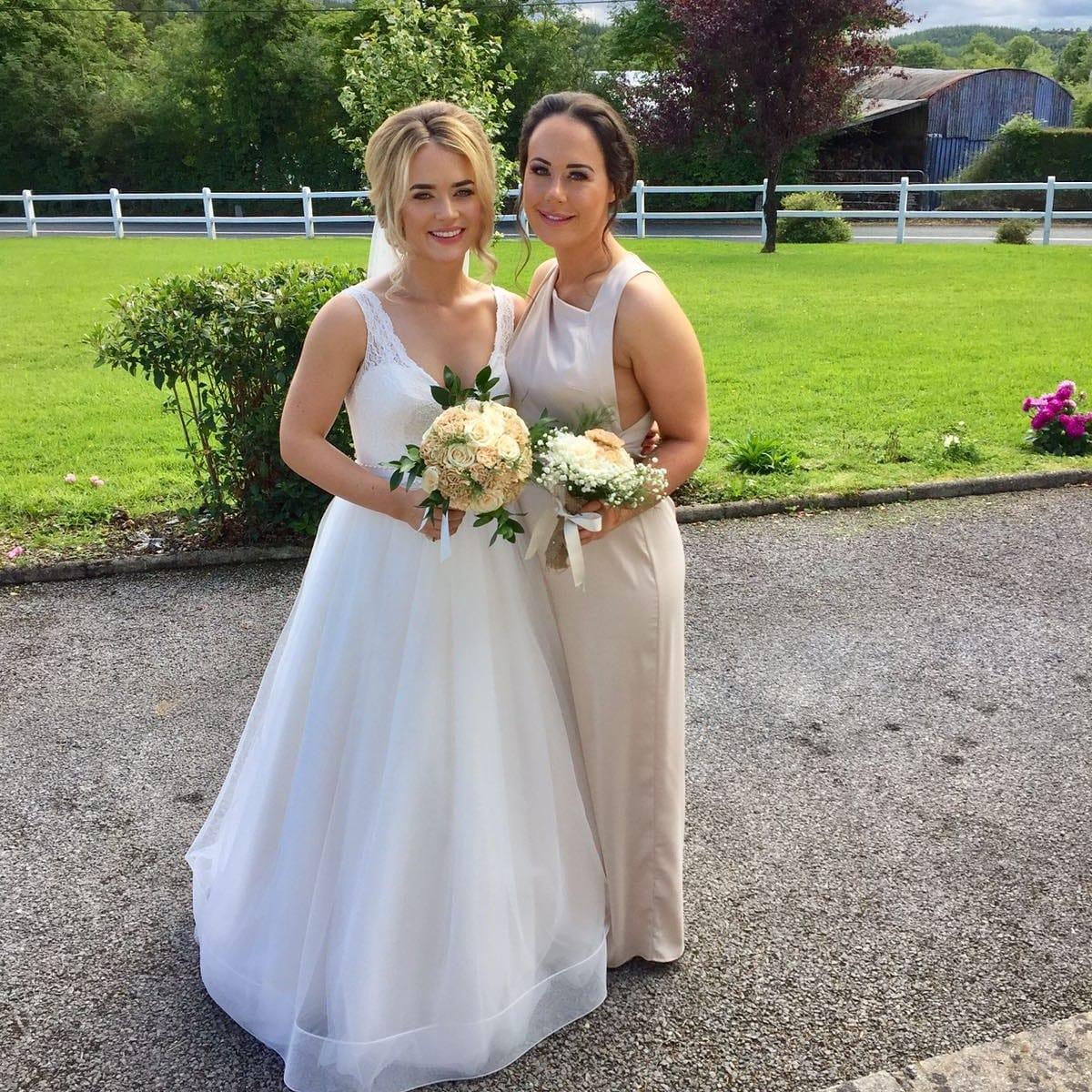 Mikaella Lace & Tulle 2063 Wedding Dress