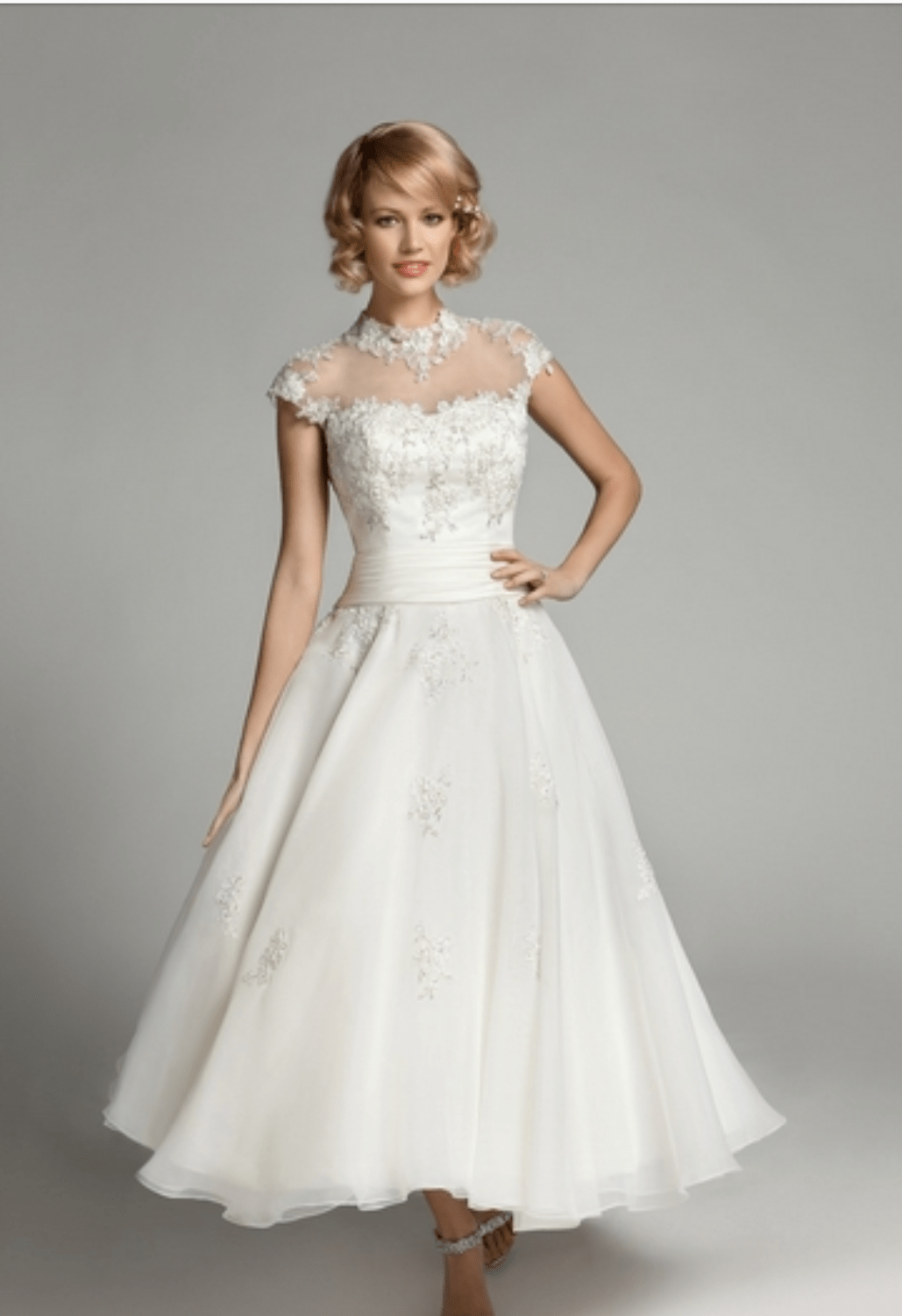 Stunning ballet length mark lesley dress sell my wedding for Sell wedding dress online