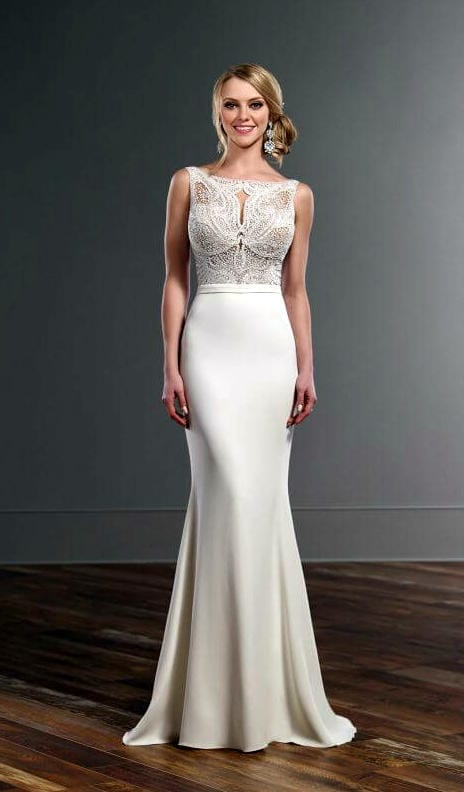 Martina Liana 823 wedding gown