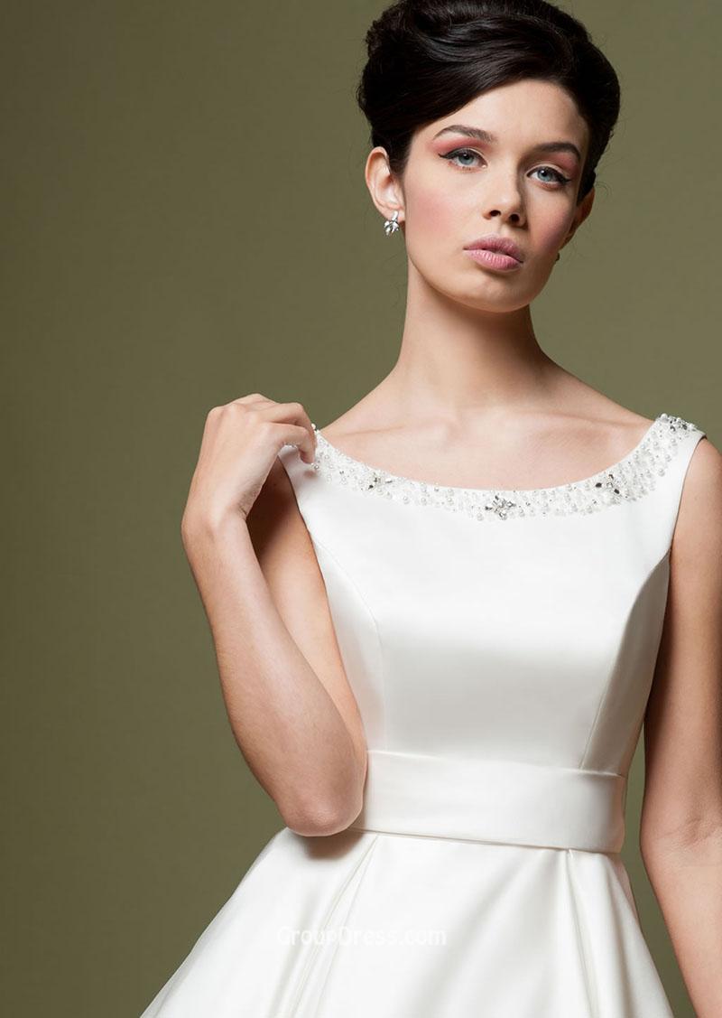 Lou Lou A Line Tea Length Wedding Dress Sell My Wedding