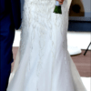 Justin Alexander 8846 Glamorous & Elegant pearl embellished gown