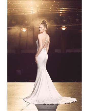 Paloma Blanca 4714 gown