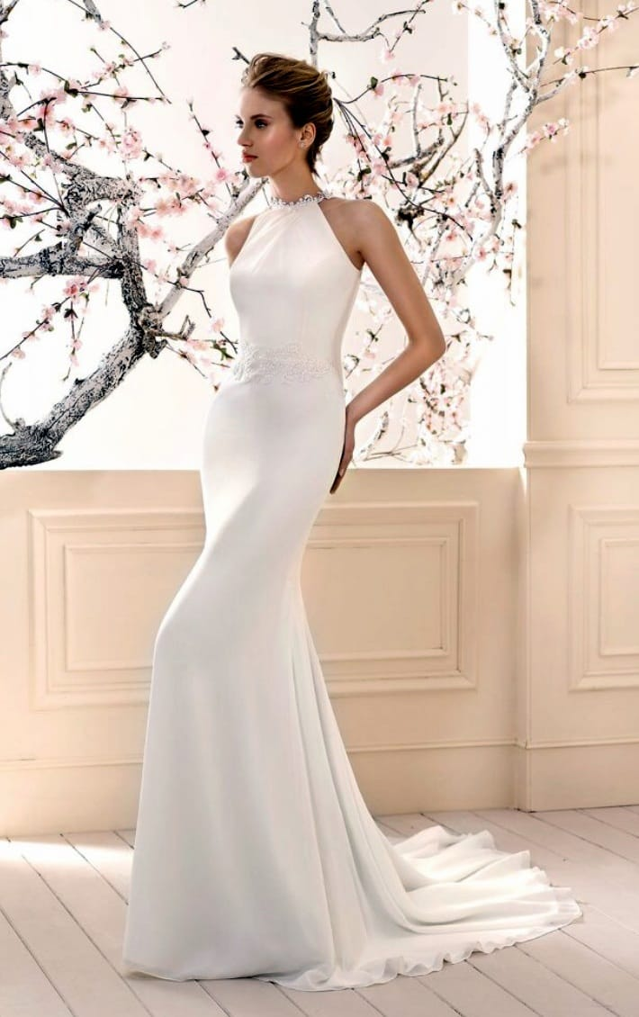 Cabotine begur chiffon gown sell my wedding dress online for Sell wedding dress online