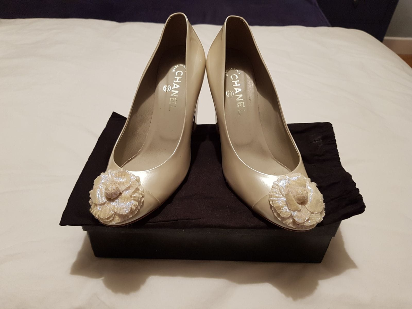 Chanel Bridal Shoes - Sell My Wedding Dress Online | Sell ... - photo #37
