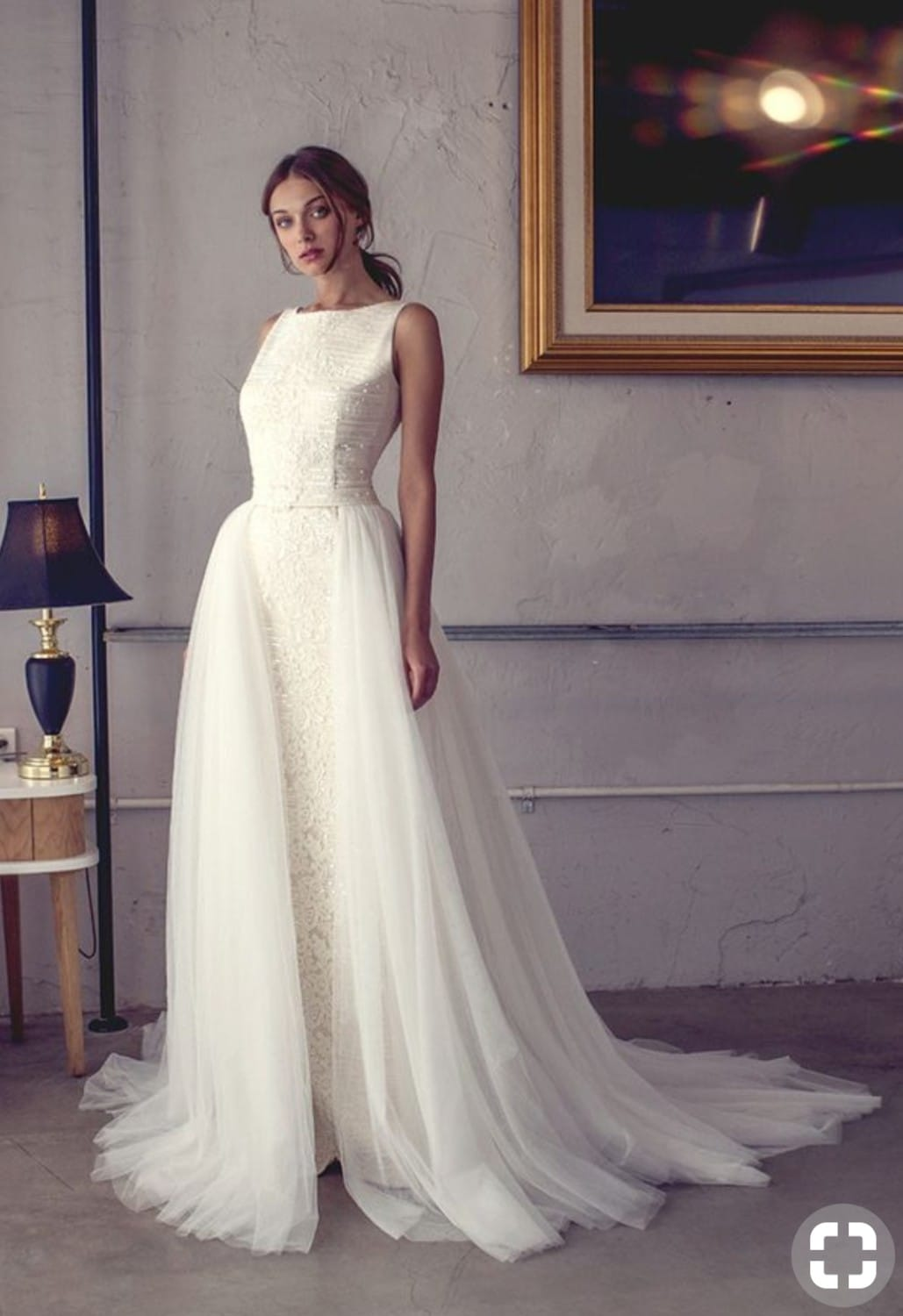 Dual look wedding dress by Riki Dalal - Sell My Wedding Dress Online ...