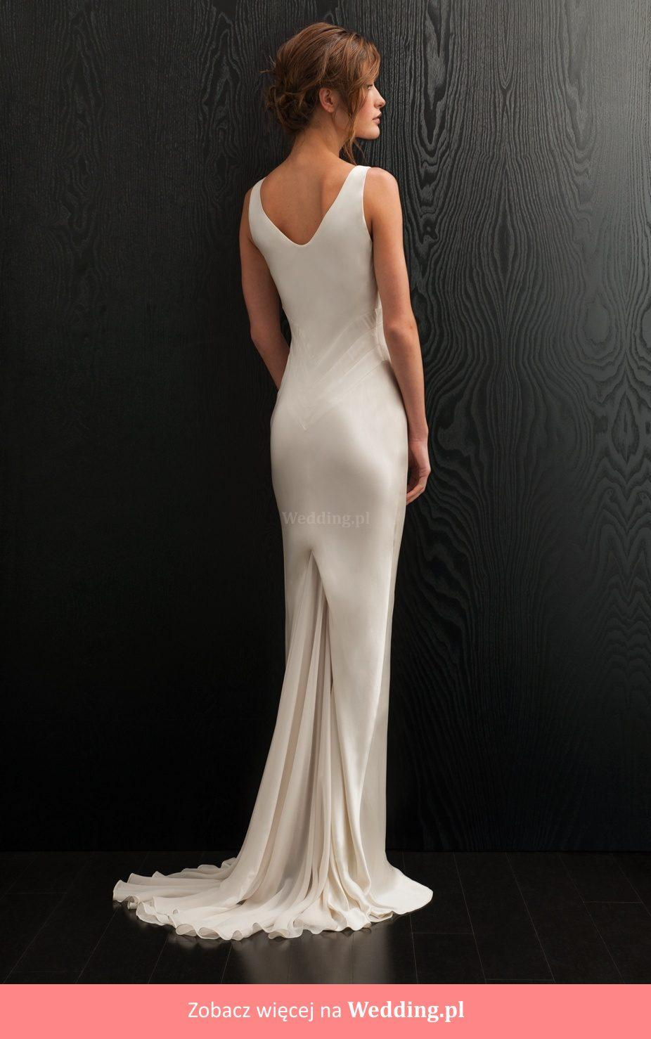 Beautiful Silk Amanda Wakeley U0027Adetteu0027 Wedding Dress ...