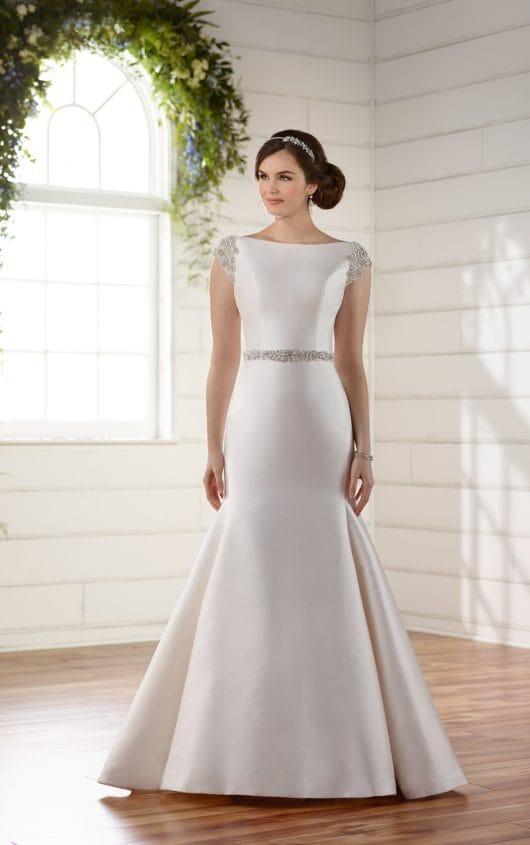 Essense of Australia Mikado wedding gown
