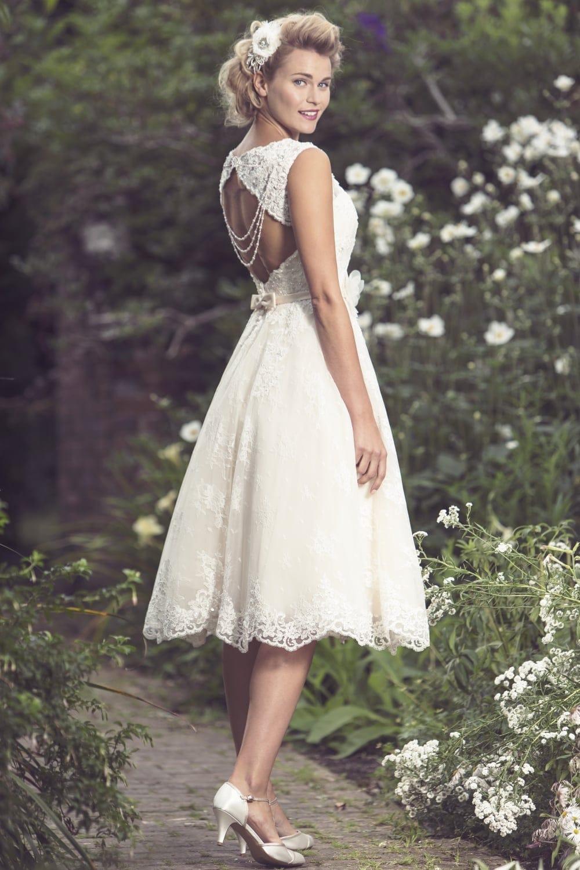 Brighton Belle Mia Tea Length Wedding Dress