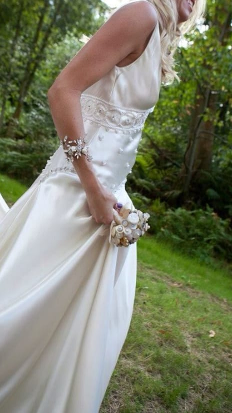 Jenny Packham Alice vintage style with modern line - Sell ...